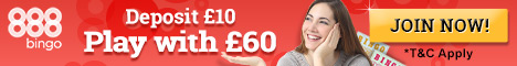 888 BINGO :: Best Online Bingo Site