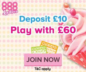 Play free bingo no deposit required at 888 Ladies